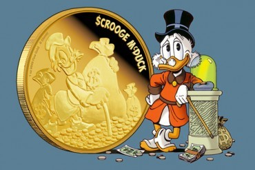 Monede cu personaje Disney si Regina Elisabeth a-II-a