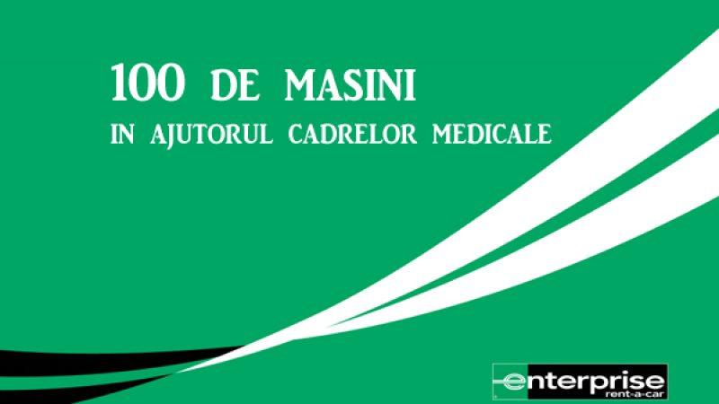 Enterprise Romania ofera 100 de masini cadrelor medicale